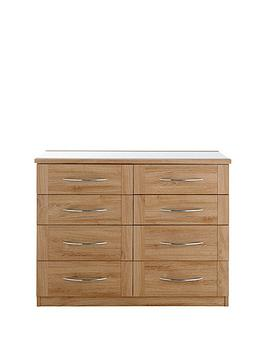 buckingham-4-4-drawer-glass-top-chest