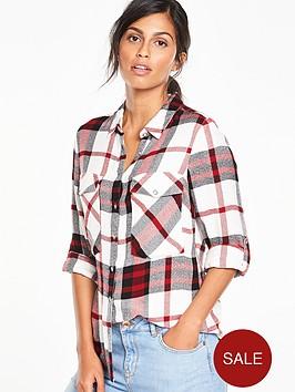 v-by-very-long-sleeve-check-shirt
