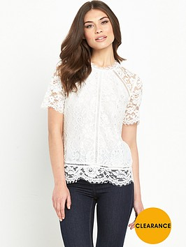 v-by-very-floral-lace-top