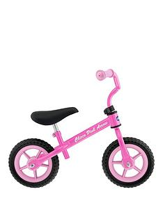 chicco-pink-arrow-balance-bike