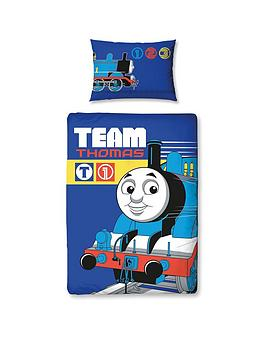 Thomas & Friends Thomas The Tank Team Toddler Duvet Cover Set