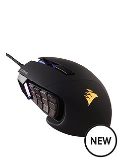 corsair-pc-gaming-scimitar-multi-colour-rgb-12000-dpi-optical-mouse-black