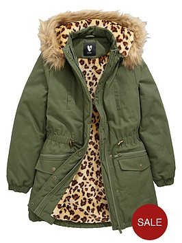 v-by-very-girls-animal-faux-fur-lined-parka