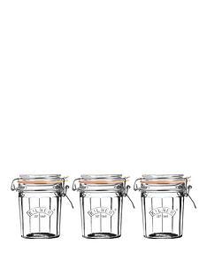 kilner-kilner-facet-jars-025-litre-set-of-3