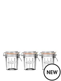 kilner-kilner-facet-jars-045-litre-set-of-3