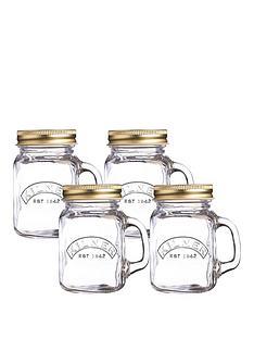kilner-kilner-mini-handled-jars-set-of-4-140ml