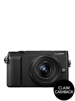 panasonic-lumix-dmc-gx80nbspcompact-system-camera-12-32mmnbsplens-4k-ultra-hd-16mp-4x-digital-zoom-wi-fi-3-inchnbsplcdnbsptouchscreennbspfree-angle-monitor-with-pound100-cashback