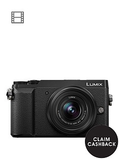 panasonic-lumix-dmc-gx80nbspcompact-system-camera-12-32mmnbsplens-4k-ultra-hd-16mp-4x-digital-zoom-wi-fi-3-inchnbsplcdnbsptouchscreennbspfree-angle-monitor