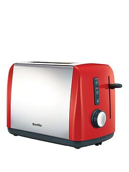 Breville Colour Collection Red 2 Slice Toaster Vtt757