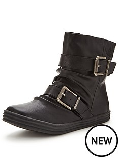 blowfish-ranuku-buckle-ankle-boot