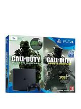 Slim 1Tb Console with Call of Duty: Infinite Warfare Early Access Bundle plus Optional Extra Controller and/or 12 Months PlayStation Network