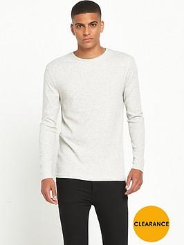 river-island-long-sleeve-ribbed-t-shirt
