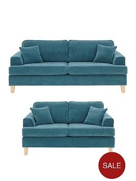 salsburgnbsp3-seaternbsp-2-seaternbspfabric-sofa-set-buy-and-save