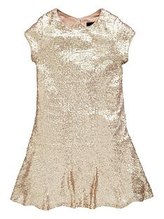 v-by-very-girls-drop-waist-sequined-dress