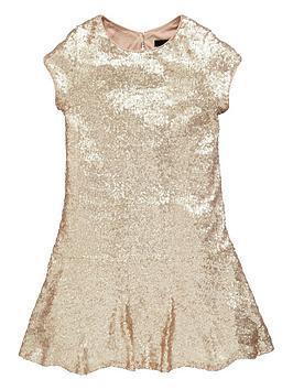 v-by-very-girls-drop-waist-sequined-dress
