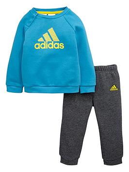 adidas-baby-boys-fleece-sweat-top-and-joggers