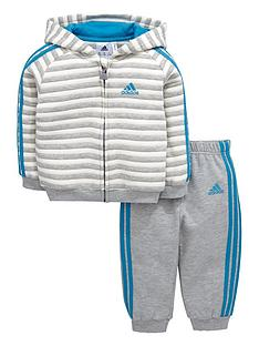 adidas-baby-boys-stripe-fleece-tracksuit