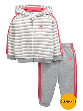 adidas-baby-girls-stripe-fleece-tracksuit