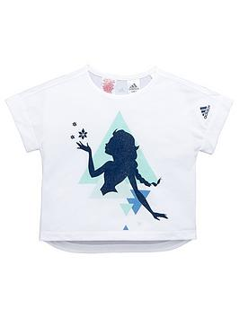 Adidas Disney Young Girls Frozen TShirt