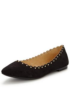 oasis-kate-scalloped-pointed-ballerina