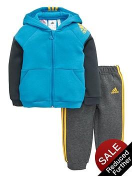 adidas-baby-boy-fleece-hooded-suit