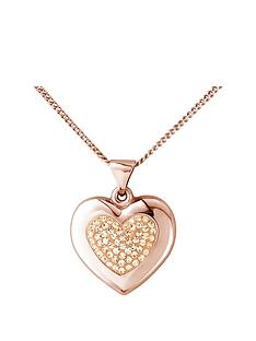 keepsafe-sterling-silver-rose-gold-plated-crystal-set-and-polished-heart-pendant
