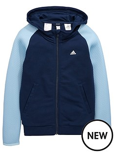 adidas-older-girls-mesh-detail-hoody