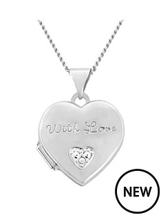 the-love-silver-collection-sterling-silver-cubic-zirconia-heart-locket-with-18-charm