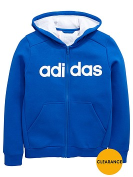 adidas-older-boys-linear-logo-hoody