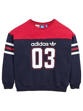 Adidas Originals Older Girls Sweatshirt