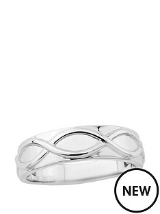 the-love-silver-collection-sterling-silver-wave-detail-mens-ring