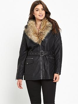 so-fabulous-long-line-fur-trim-pu-jacket