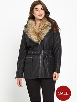so-fabulous-long-line-fur-trim-pu-jacket