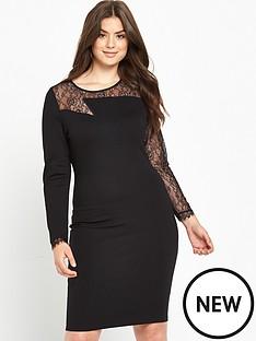 so-fabulous-zig-zag-lace-yoke-body-con-dress