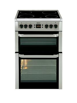 Beko Bdvc667S 60Cm Wide Electric Cooker  Silver  Cooker