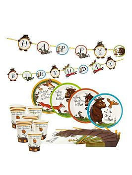the-gruffalo-party-kit-bunting-plates-cups-amp-napkins