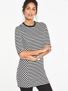 v-by-very-stripe-textured-tunic-top