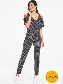 v-by-very-cold-shoulder-jumpsuit-stripe