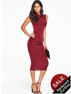v-by-very-roll-neck-ruchednbspjersey-midi-dress