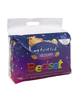 Product photograph showing Silentnight Kids Complete Bed Set - Includes 10 5 Tog Duvet Mattress Protector And Pillow