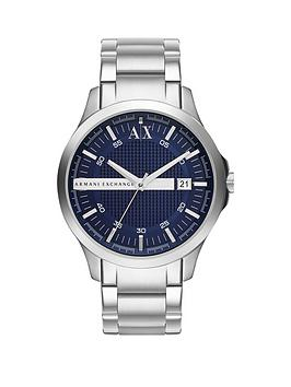 armani-exchange-blue-dial-and-stainless-steel-bracelet-mens-watchnbspbr-br