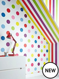graham-brown-dotty-multi-bright-wallpaper