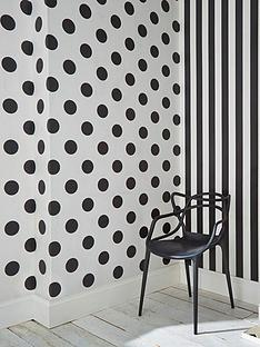 graham-brown-dotty-black-wallpaper