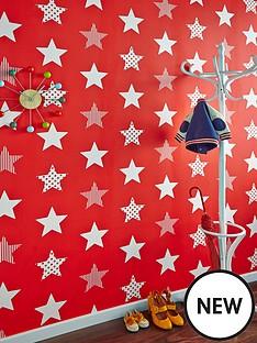 graham-brown-superstar-red-wallpaper