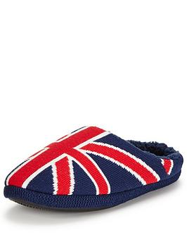 dunlop-union-jack-mule-slipper