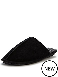 dunlop-suede-mule-black