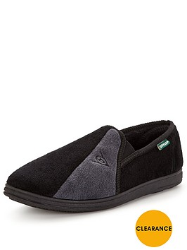 dunlop-full-slipper-black
