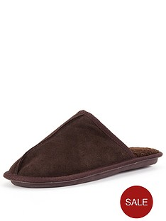 dunlop-suede-mule-brown
