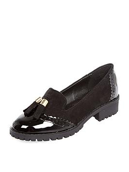river-island-girls-geek-tassel-loafers