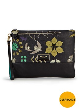 radley-herbarium-clutch-bag-black